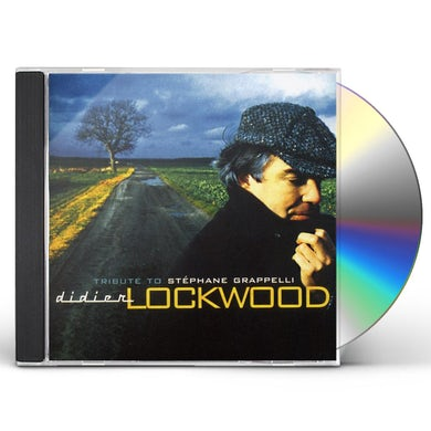 Didier Lockwood TRIBUTE TO STEPHANE GRAPPELLI CD