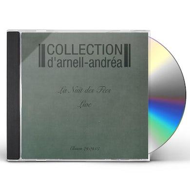 Collection d'Arnell Andrea LIVE AT LA NUIT DES FEES CD