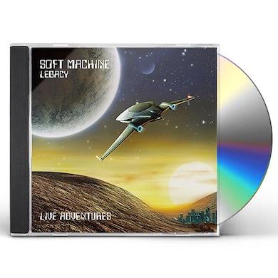 Soft Machine LIVE ADVENTURES CD