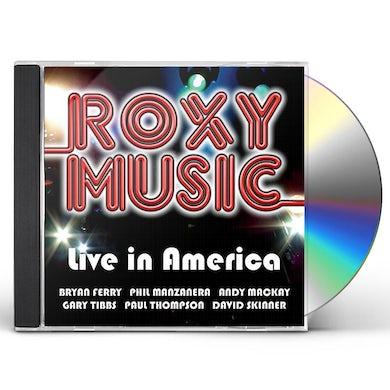 Roxy Music LIVE IN AMERICA CD