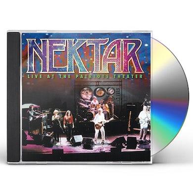 Nektar LIVE AT THE PATRIOTS THEATER CD