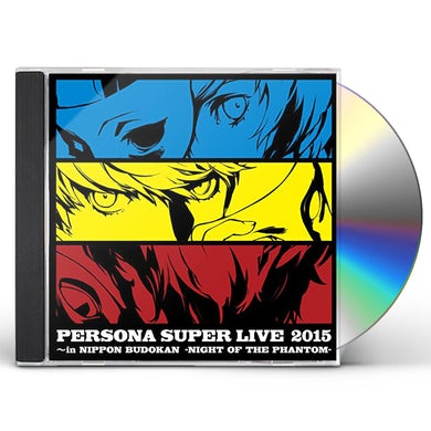 Game Music PERSONA SUPER LIVE 2015 -IN NIUDOKAN -NIGHT OF THE CD