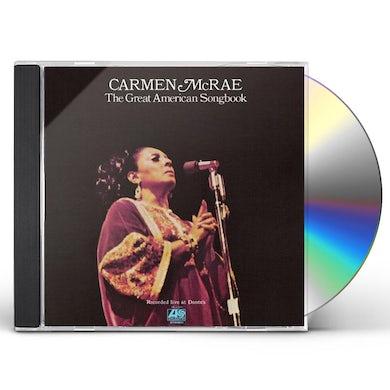 Carmen McRae GREAT AMERICAN SONGBOOK 2 CD