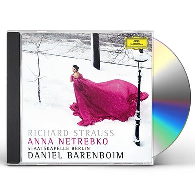 Anna Netrebko RICHARD STRAUSS: 4 LAST SONGS CD