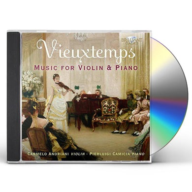 Vieuxtemps / Andriani / Camicia MUSIC FOR VIOLIN & PIANO CD