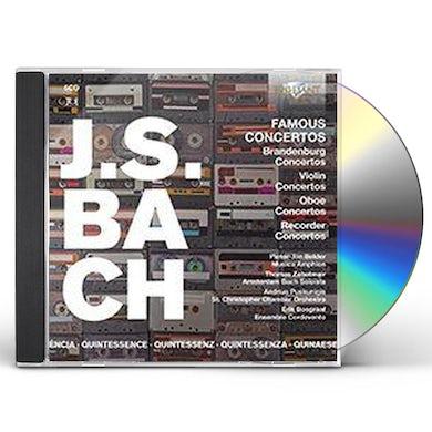 J.S. Bach FAMOUS CONCERTOS CD