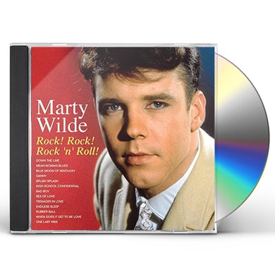 Marty Wilde ROCK ROCK ROCK N ROLL CD