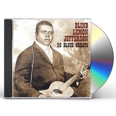 Blind Lemon Jefferson 20 BLUES GREATS CD