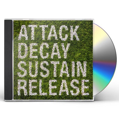Simian Mobile Disco ATTACK DECAY SUSTAIN RELEASE CD