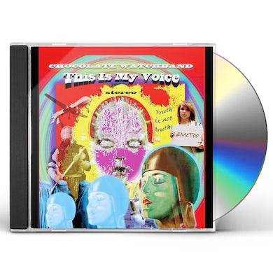 The Chocolate Watchband THIS IS MY VOICE CD