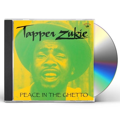 Tapper Zukie PEACE IN THE GHETTO CD