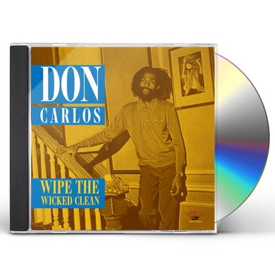 Don Carlos WIPE THE WICKED CLEAN CD