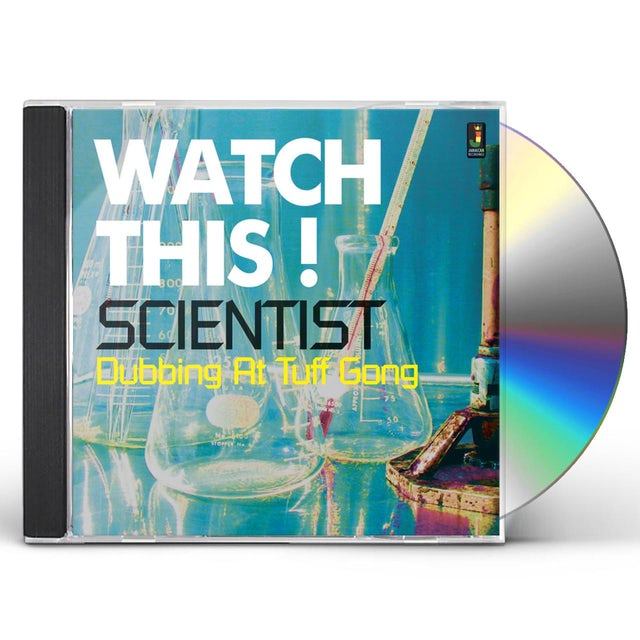 Scientist WATCH THIS DUBBING AT TUFF GONG CD