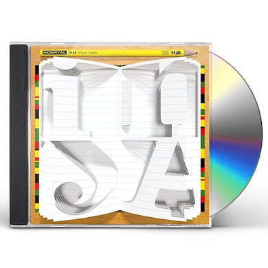 Inja BLANK PAGES CD