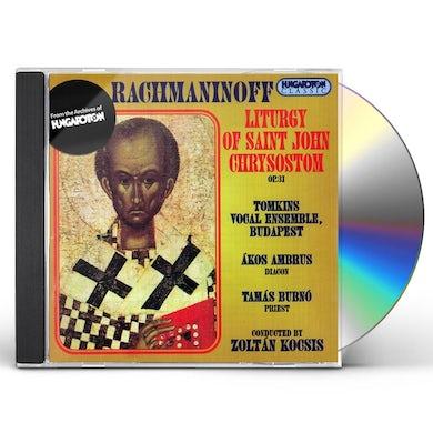 Sergey Rachmaninov LITURGY OF SAINT JOHN CHRYSOSTOM OP. 31 CD