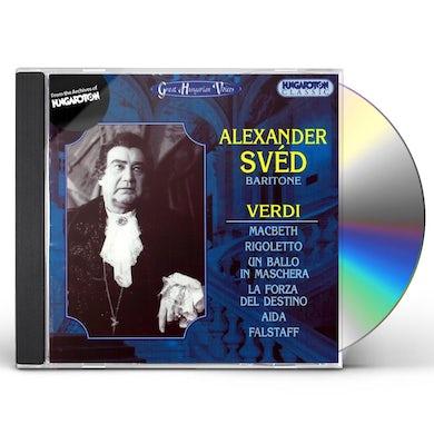 G. Verdi ALEXANDER SVTD: BARITONE CD