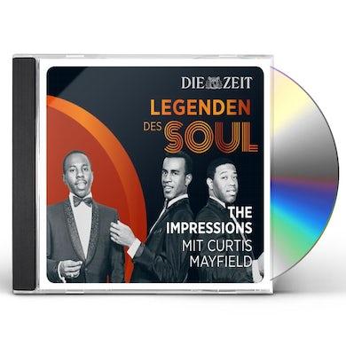 Curtis Mayfield & The Impressions DIE ZEIT EDITION-LEGENDEN DES SOUL CD