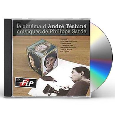 Philippe Sarde LE CINEMA D'ANDRE TECHINE CD