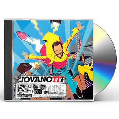 Jovanotti LORENZO NEGLI STADI: BACKUP TOUR CD