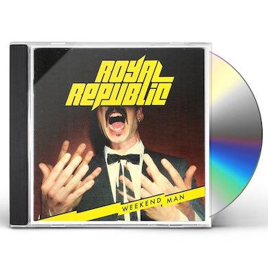 Royal Republic WEEKEND MAN CD