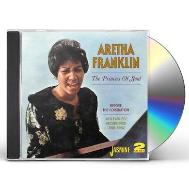 Aretha Franklin   PRINCESS OF SOUL CD