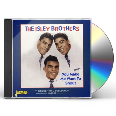 The Isley Brothers SHOUT: ESSENTIAL COLLECTION 1956-59 CD