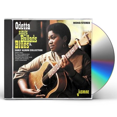 Odetta SINGS BALLADS & BLUES: EARLY ALBUM COLLECTION CD