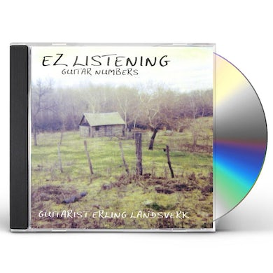Erling Landsverk EZ LISTENING GUITAR NUMBERS CD