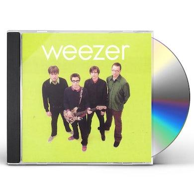 Weezer  GREEN ALBUM CD