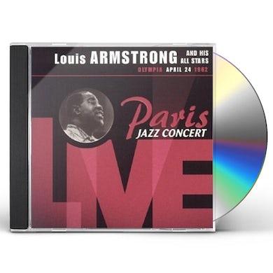 Louis Armstrong PARIS JAZZ CONCERT LIVE CD