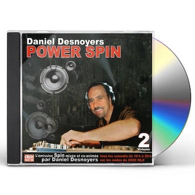 Daniel Desnoyers POWER SPIN 2 CD