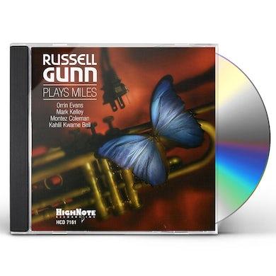RUSSELL GUNN PLAYS MILES CD