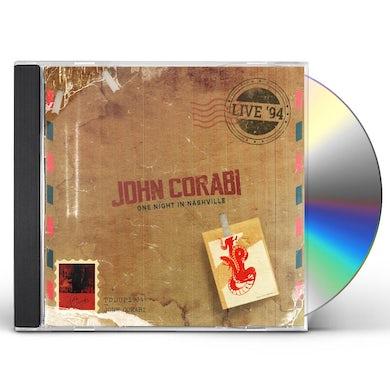 John Corabi LIVE 94 (ONE NIGHT IN NASHVILLE) CD