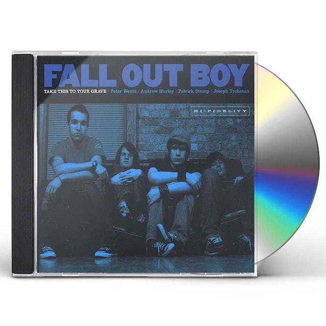 Fall Out Boy TAKE THIS TO YOUR GRAVE CD