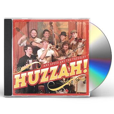 Jake Speed & The Freddies HUZZAH! CD
