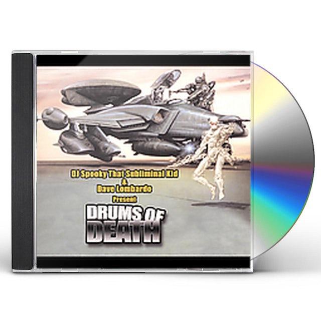 DJ Spooky Vs Dave Lombardo DRUMS OF DEATH CD