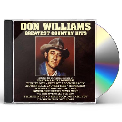 Don Williams GREATEST COUNTRY HITS CD
