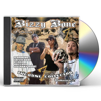 BIZZY BONE PRESENTS THE BONE COLLECTOR 2 CD