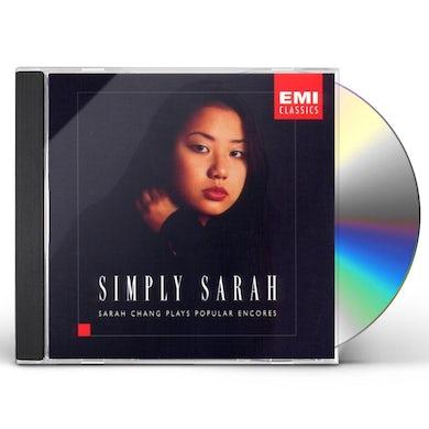 Sarah Chang SIMPLY SARAH CD