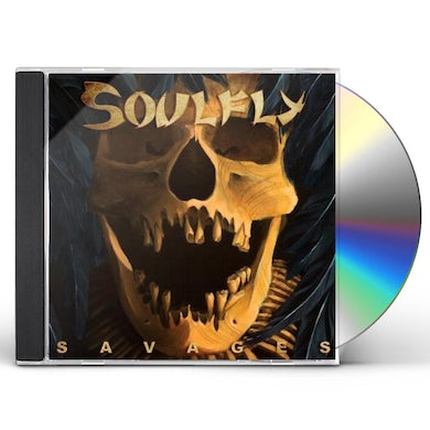 Soulfly SAVAGES: LIMITED EDITION CD