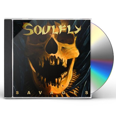 Soulfly SAVAGES DIGIPAK CD