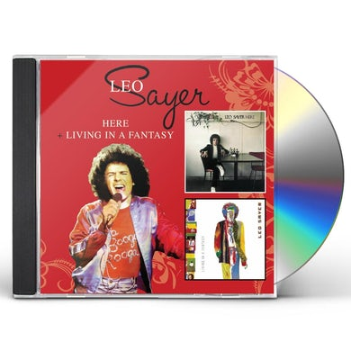 Leo Sayer HERE / LIVING IN A FANTASY CD