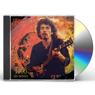 Santana 1968 SAN FRANCISCO CD