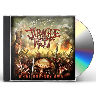 Jungle Rot WHAT HORRORS AWAIT CD