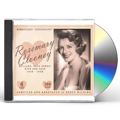 Rosemary Clooney BALLADS BLUES SONGS HIT & JAZZ 1949-1958 CD