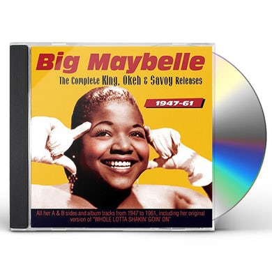 Big Maybelle COMPLETE KING OKEH AND SAVOY RELEASES 1947-59 CD