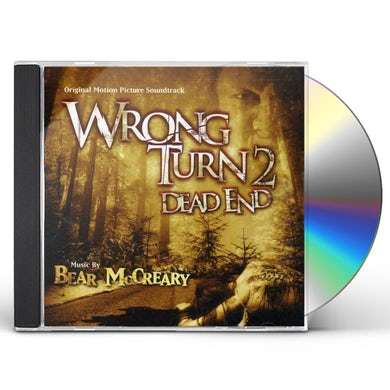 Bear McCreary WRONG TURN 2 / Original Soundtrack CD