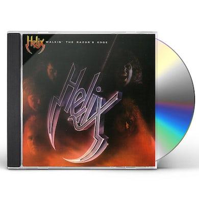 Helix WALKIN THE RAZORS EDGE CD