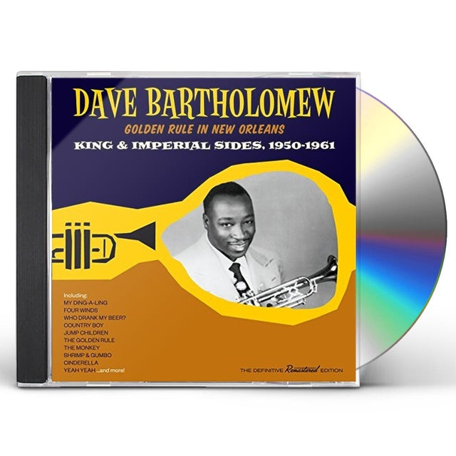 Dave Bartholomew GOLDEN RULE IN NEW ORLEANS: KING & IMPERIAL SIDES CD