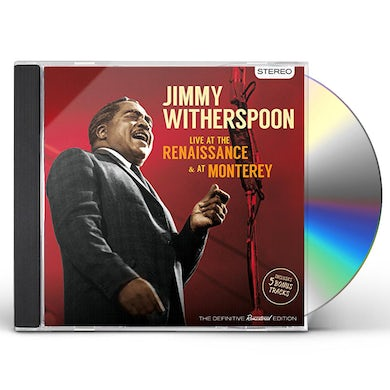 Jimmy Witherspoon LIVE AT THE RENAISSANCE & AT MONTE CD